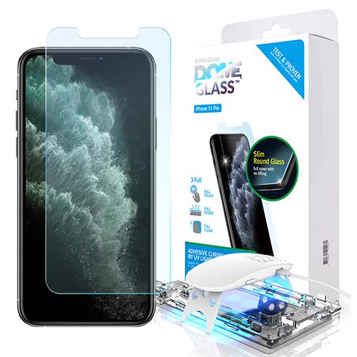 [화이트스톤] 아이폰11pro 돔글라스 풀커버 강화유리 액정보호필름