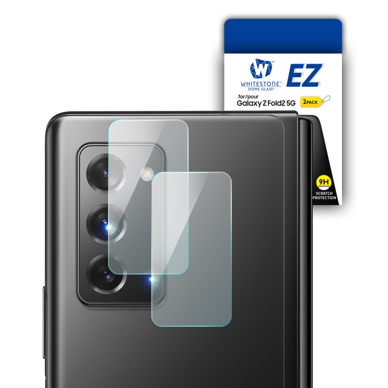 화이트스톤 갤럭시 Z 폴드2 카메라렌즈 강화유리 보호필름 EZ글라스(2매)