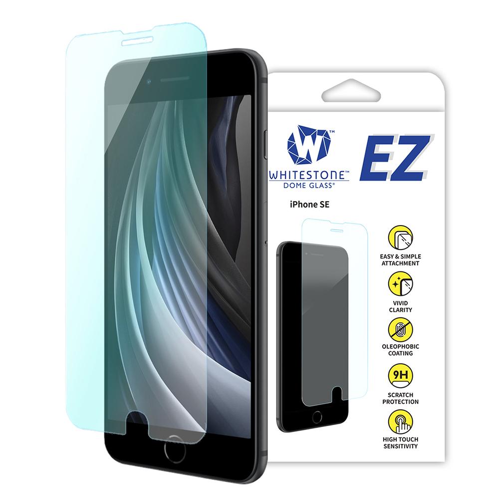 [화이트스톤][AS제외상품] 아이폰SE EZ글라스 일반 점착식 강화유리 액정보호필름