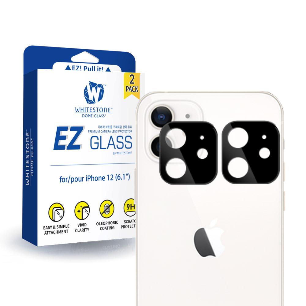 화이트스톤 아이폰12 카메라렌즈 강화유리 보호필름 EZ글라스(2매)