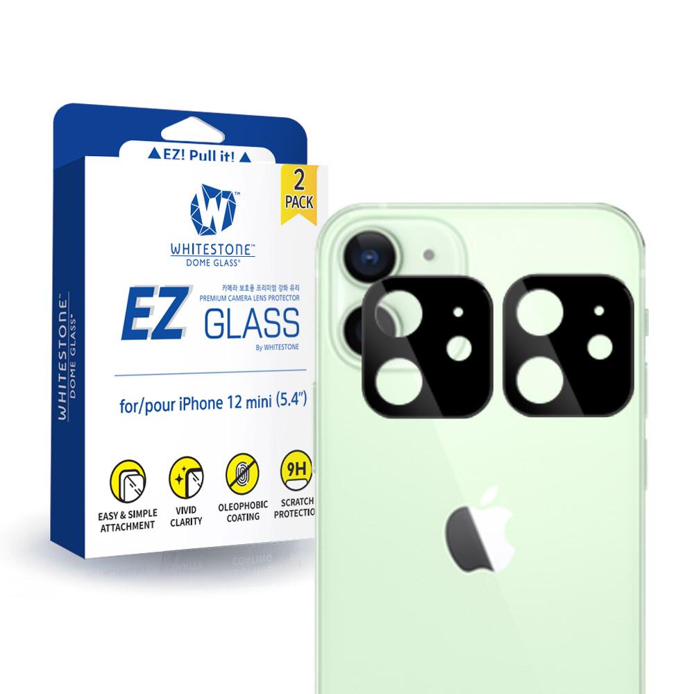 화이트스톤 아이폰12미니 카메라렌즈 강화유리 보호필름 EZ글라스(2매)